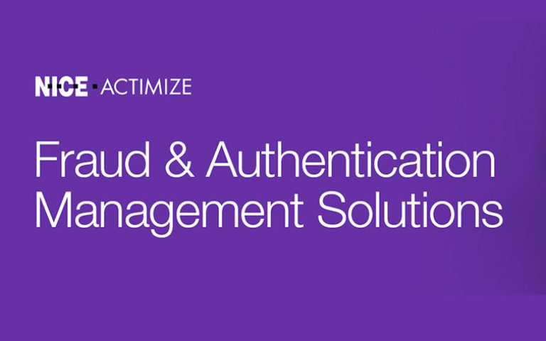 Fraud & Authentication Management Solutions Nice Actimize